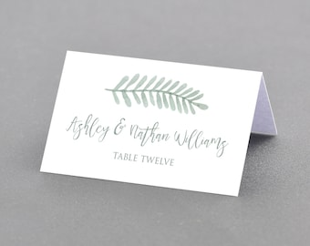 table placement cards templates - placecard holders etsy