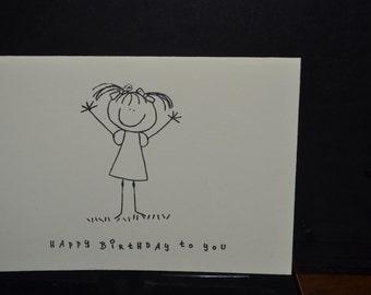 "Simple sentiments ""Happy Birthday"""