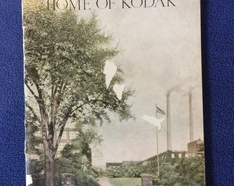 The Home of Kodak 1928 Rare Paperback Booklet