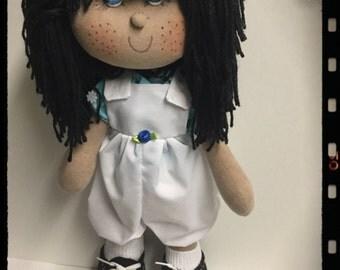 Carolina cloth doll
