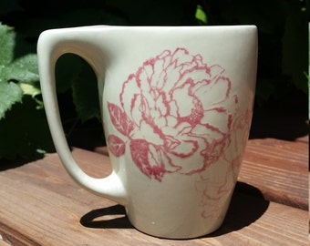 Floral Teabag Mug