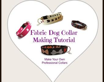 Fabric Dog Collar Making Tutorial