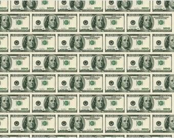 100 Dollar Bill Poster 24x36 Kitsch & Classy Money Currency Ben Franklin