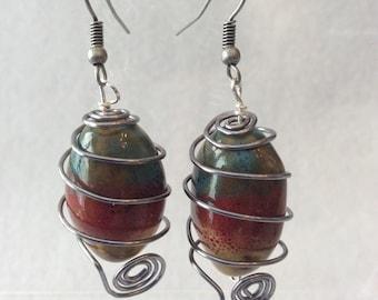 Ceramic bead spiral