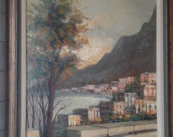 A. Apostoli - Original Oil On Canvas - Impressionism
