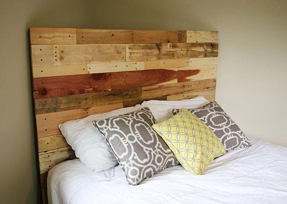 Pallet headboard, reclaimed headboard, wood headboard, wooden headboard, reclaimed  wood headboard - Pallet Headboard Reclaimed Headboard Wood Headboard Wooden