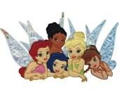 Disney Fairies Iron On Applique, Iron On Patch (451069)