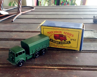 Matchbox Series 1959 General Service Truck  with Box | Vintage Matchbox