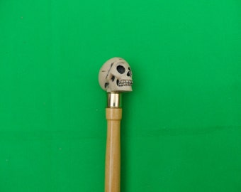 Ivory Style skull walking stick