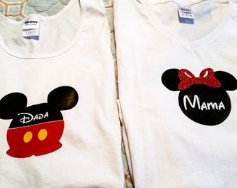 Custom Disney Shirts or Onesies