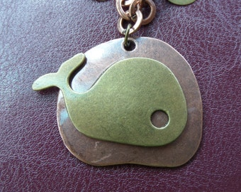 Whale of A Tale Necklace and Earring Set