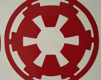 Star Wars Imperial Cog decal