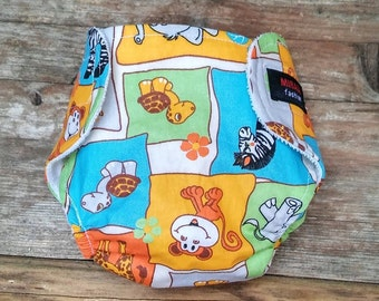 Protective baby diaper,  with animals,free shipping