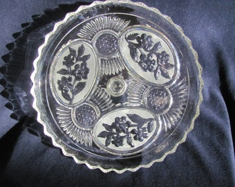 Vintage Glass Cake Stand - Reduced Price!