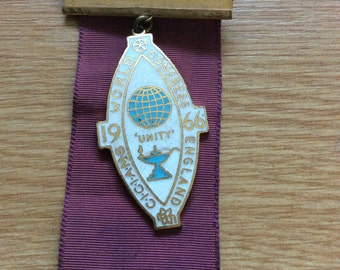 CICIAMS 1966 World Congress Medal and Ribbon