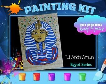 Painting Kit - Egypt - Tut Anch Amun