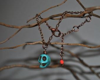 Skull & Chain Bracelet