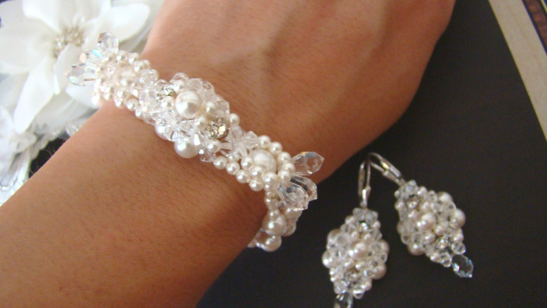 Bridal Jewelry Set Pearl Wedding Jewelry For Brides Bridal