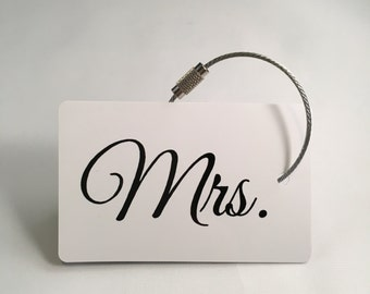MRS Personalized Luggage Tag/ Bag Tag