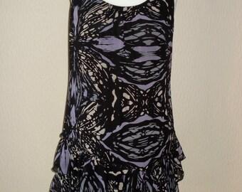 Ladies Limited Collection Chiffon Tunic Top/mini dress