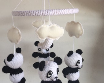 Mobile baby panda