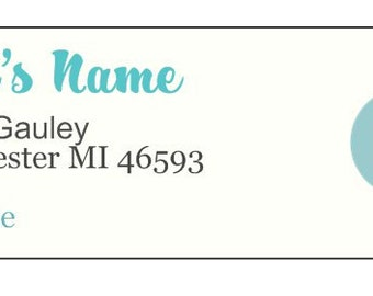 Return Address Labels- 140 each