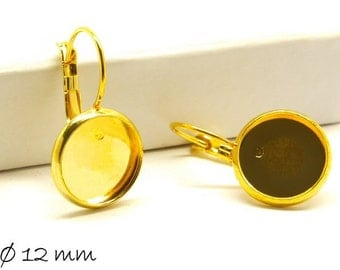 10 PCs high quality wires golden for 12 mm cabochon