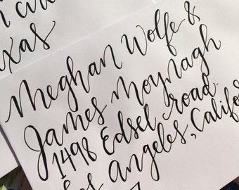 Brush Pen Hand Lettering Modern Calligraphy For By