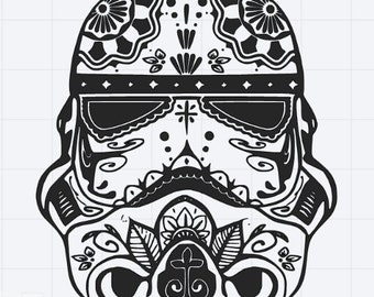 Storm Trooper Svg Etsy