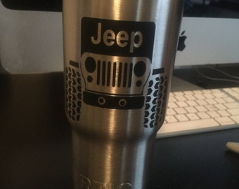 Jeep Personalized RTIC cup