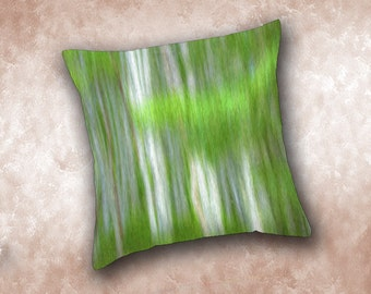 Aspens Throw Pillow. Colorado