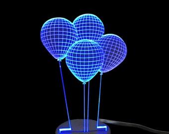Balloons-LED Night Light Lamp