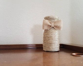 Wrapped Bottle  5 1/2 inches