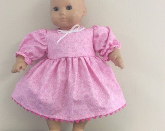Bitty baby pink dress