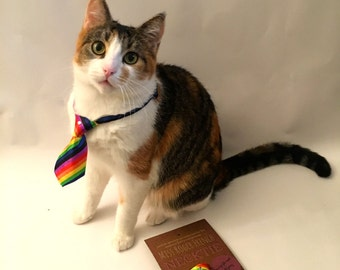 The Oxford St: Adjustable necktie for cats, dogs, kittens, Puppies and furrbabies SALE 30% OFF