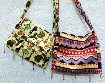 Small bell crossbody bags