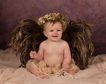 Newborn Angel Wings, Earth Angel Wings, Baby Angel Wings, Newborn Photo Props, Angel Wing Props, Infant Baby Wings, Feather Wings, Props