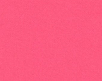 Robert Kaufman - Kona cotton solids- Punch pink
