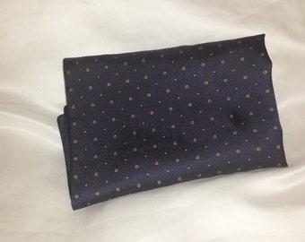 men's silk pocket square