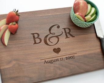 Custom Anniversary Gift, Unique Anniversary Gift, Personalized Anniversary Gift, 5th Anniversary Gift, Wood Anniversary Gift, Cutting Board