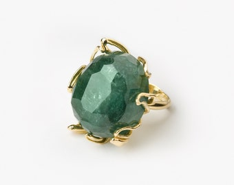 18 Kt Gold & Tourmaline Ring