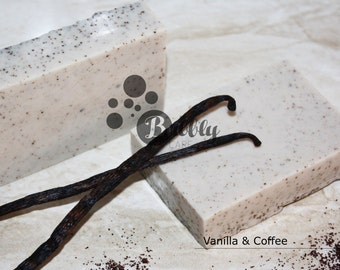 Vanilla & Coffee Handmade Soap