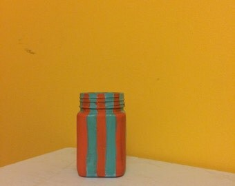 Simply stripes small jar