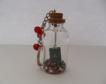 "Key Ring ""The Book of Shadows"""