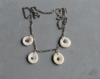 Puka Shell Necklace, One of a kind,