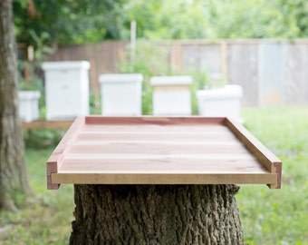 Langstroth Cedar Bottom Board for 10 Frame Bee Hive Box