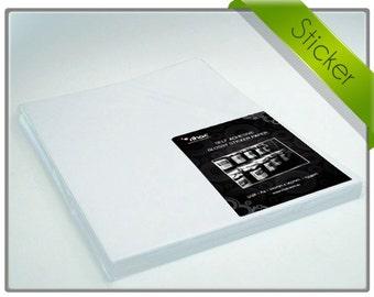 Inkjet Sticker Paper - Rihac Glossy Adhesive Photo Paper A4
