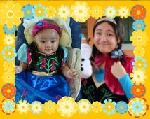 Anna costume- (baby/toddler/kids)