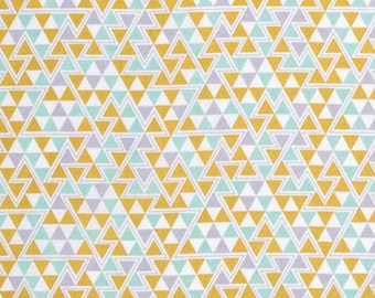 Triangle in Maize- Wander Collection by Joel Dewberry for Free Spirit Fabric