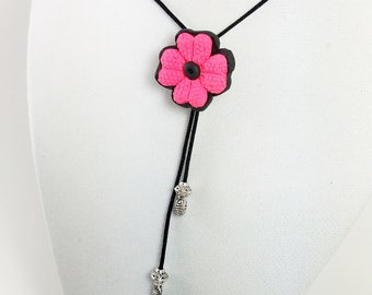 Handmade necklace in polymerclay